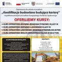 Europejski Fundusz Społeczny zaprasza na kursy zawodowe